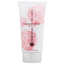 ナノアミノ ハンド&ネイル リペア クリーム R ロースシャボンの香り 70g