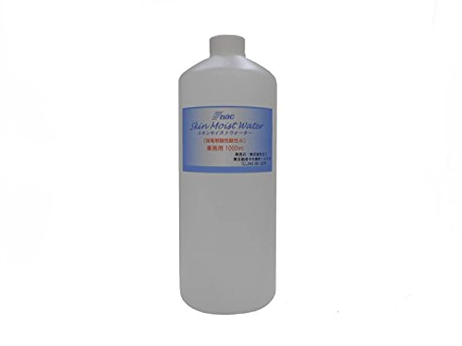 中傷策定する空洞強電解 酸性水 化粧水 スキンモイスト ウォーター 1L 業務用