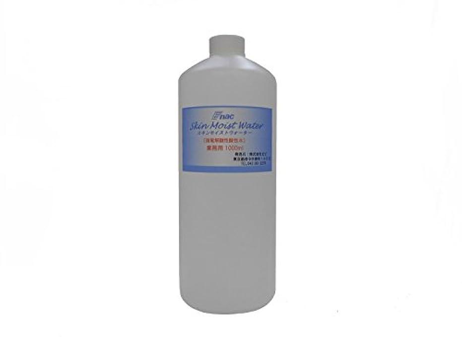 プライバシーサイバースペース変換強電解 酸性水 化粧水 スキンモイスト ウォーター 1L 業務用