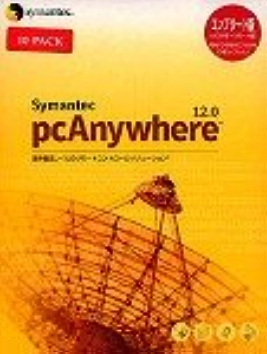 【旧商品】Symantec pcAnywhere 12.0J Complete 10pack版