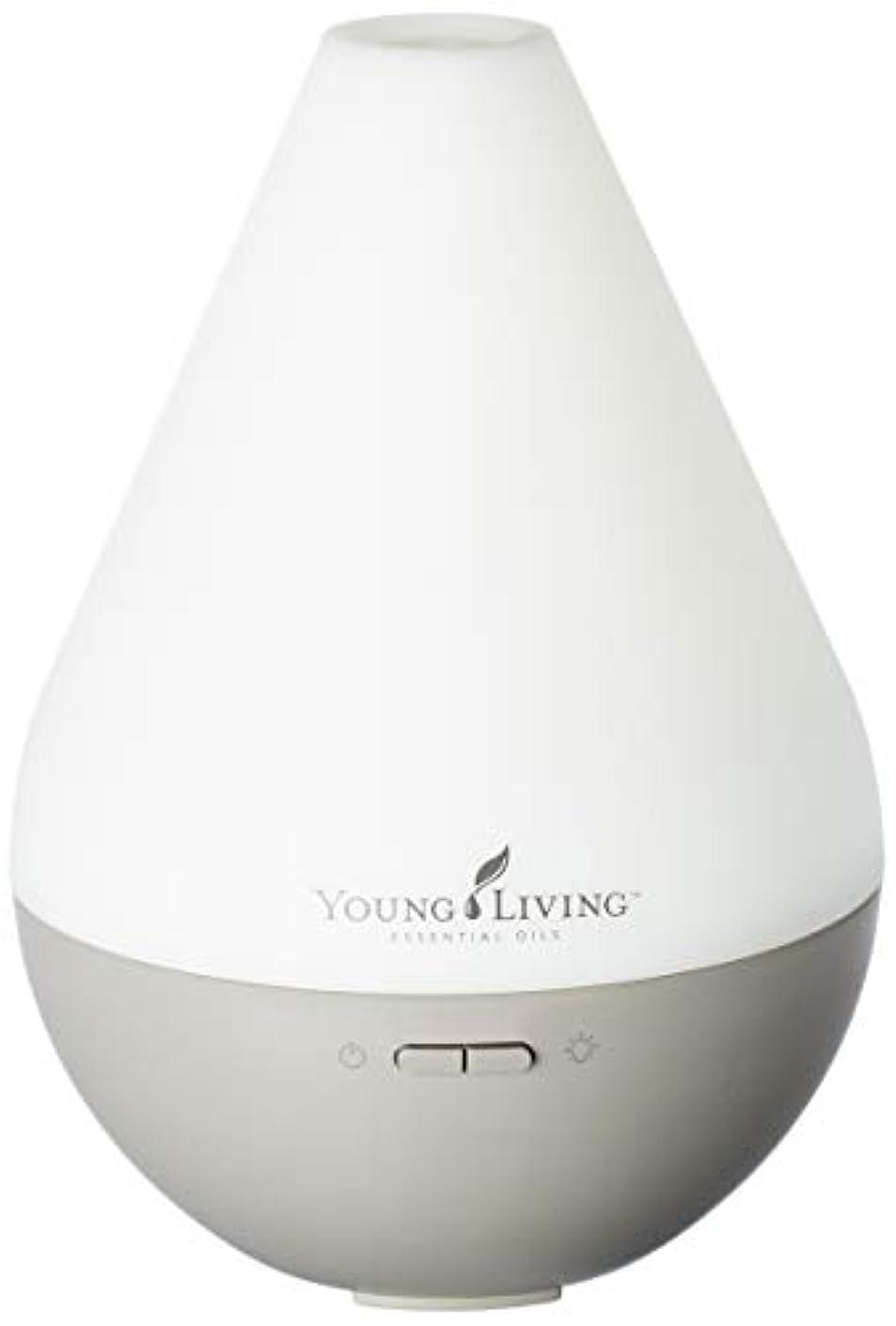 許可ブラシ軽量Young Living デュードロップデザインティアドロップとヤングリビングエッセンシャルオイルホーム超音波ディフューザー