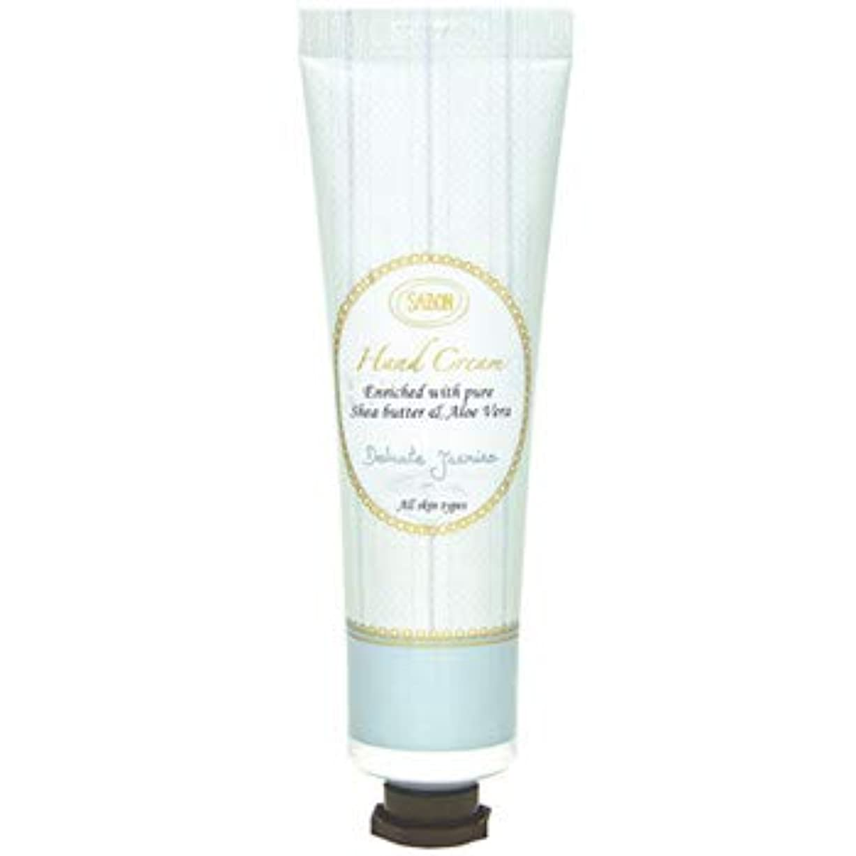 半ば戦士素人【新パッケージ】 サボン SABON ハンドクリーム デリケートジャスミン ( Delicate Jasmine ) チューブ 50ml クリーム ハンドケア Hand Cream