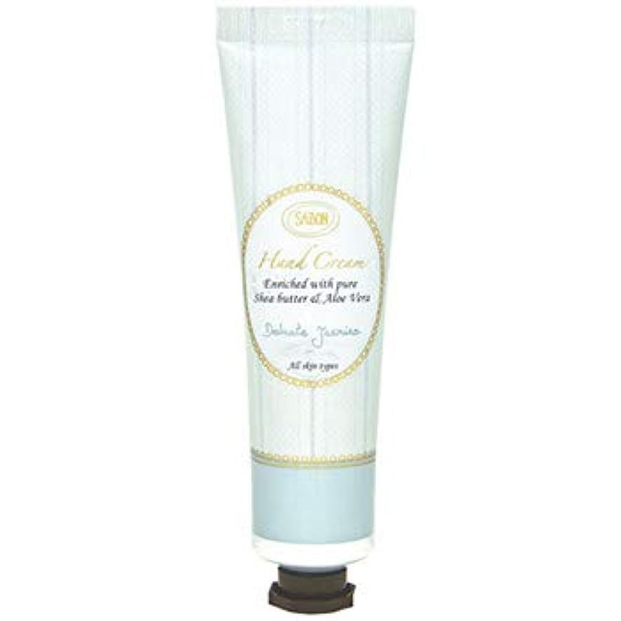 【新パッケージ】 サボン SABON ハンドクリーム デリケートジャスミン ( Delicate Jasmine ) チューブ 50ml クリーム ハンドケア Hand Cream