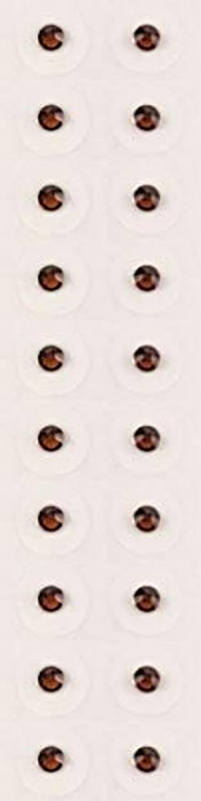 笑画家分散【スモークトパーズ/ss9/セラミック粒】耳つぼジュエリー20粒【全50色】