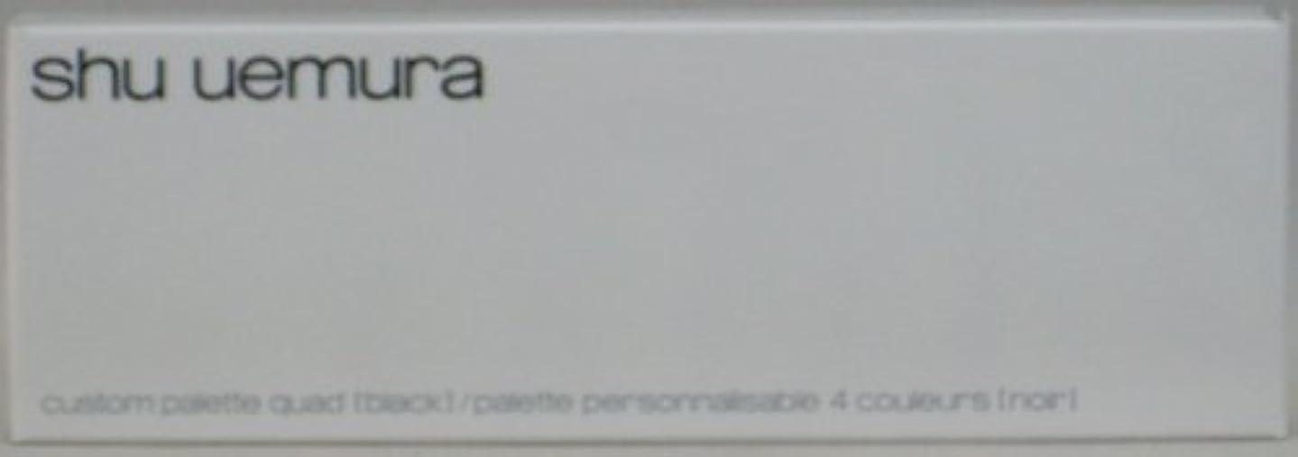 人類障害支配的シュウウエムラ カスタムパレット IV(ブラック)