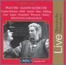 Puccini: Gianni Schicchi / Fischer-Dieskau ? M?dl ? Ahnsj? ? Thaw ? Fahberg ? Auer ? Engen ? Grumbach ? Wewezow ? Schary ? Sawallisch
