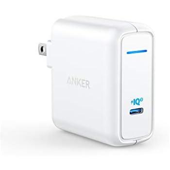 Anker PowerPort Atom III 60W(PD対応 60W USB-C 急速充電器)【PSE認証済/PowerIQ 3.0 / GaN (窒化ガリウム) 採用/折りたたみ式プラグ】 iPhone 11 / 11 Pro / 11 Pro Max/XR / 8 、 Galaxy S10 / S10+、MacBook Pro、その他USB-C機器対応
