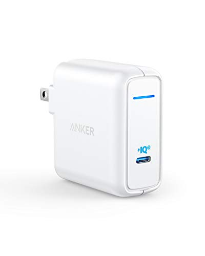 Anker PowerPort Atom III 60W(PD対応 60W USB-C 急速充電器)【PSE認証済 / PowerIQ 3.0 / GaN (窒化ガリウム) 採用 / 折りたたみ式プラグ搭載】 iPhone XS / XS Max / XR / X / 8 / 8 Plus、 Galaxy S10 / S10+、MacBook Pro、MacBook Air、 iPad Pro、その他USB-C機器対応