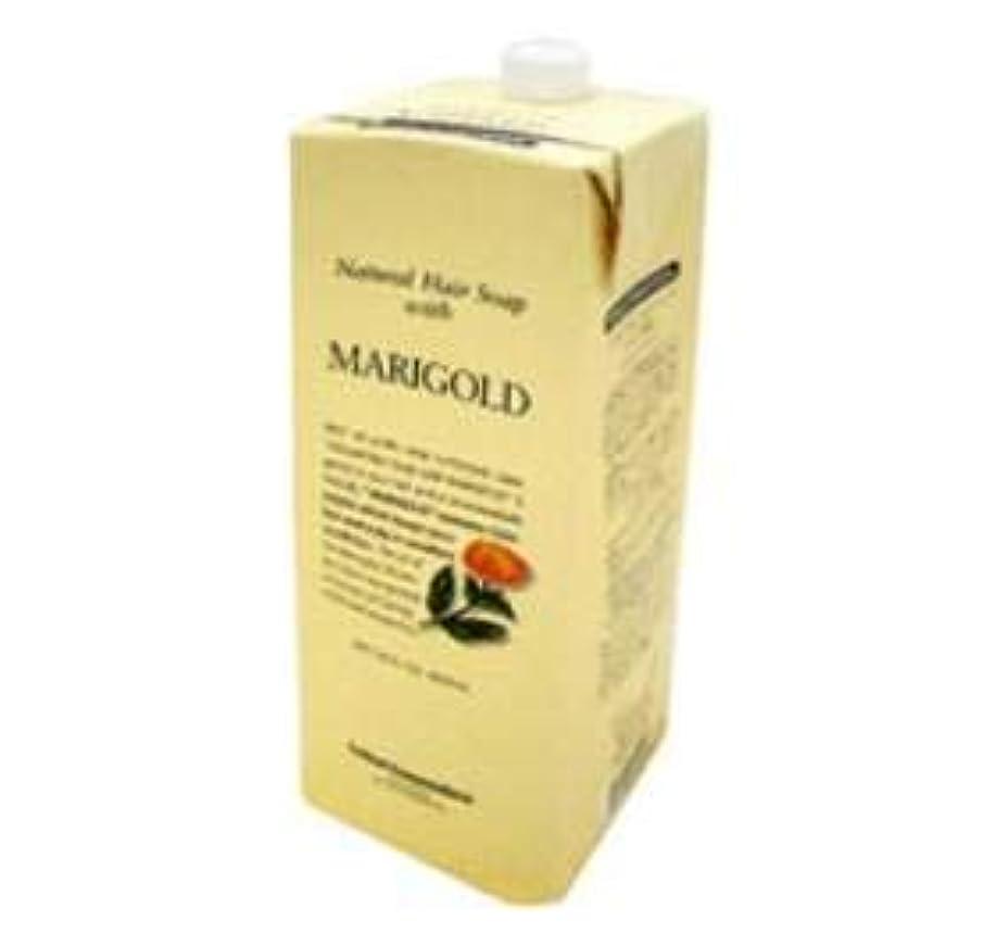 ドレス膨らみ抗生物質ルベル ナチュラル ヘア ソープ ウィズ MG(マリーゴールド)1600ml 詰替え用