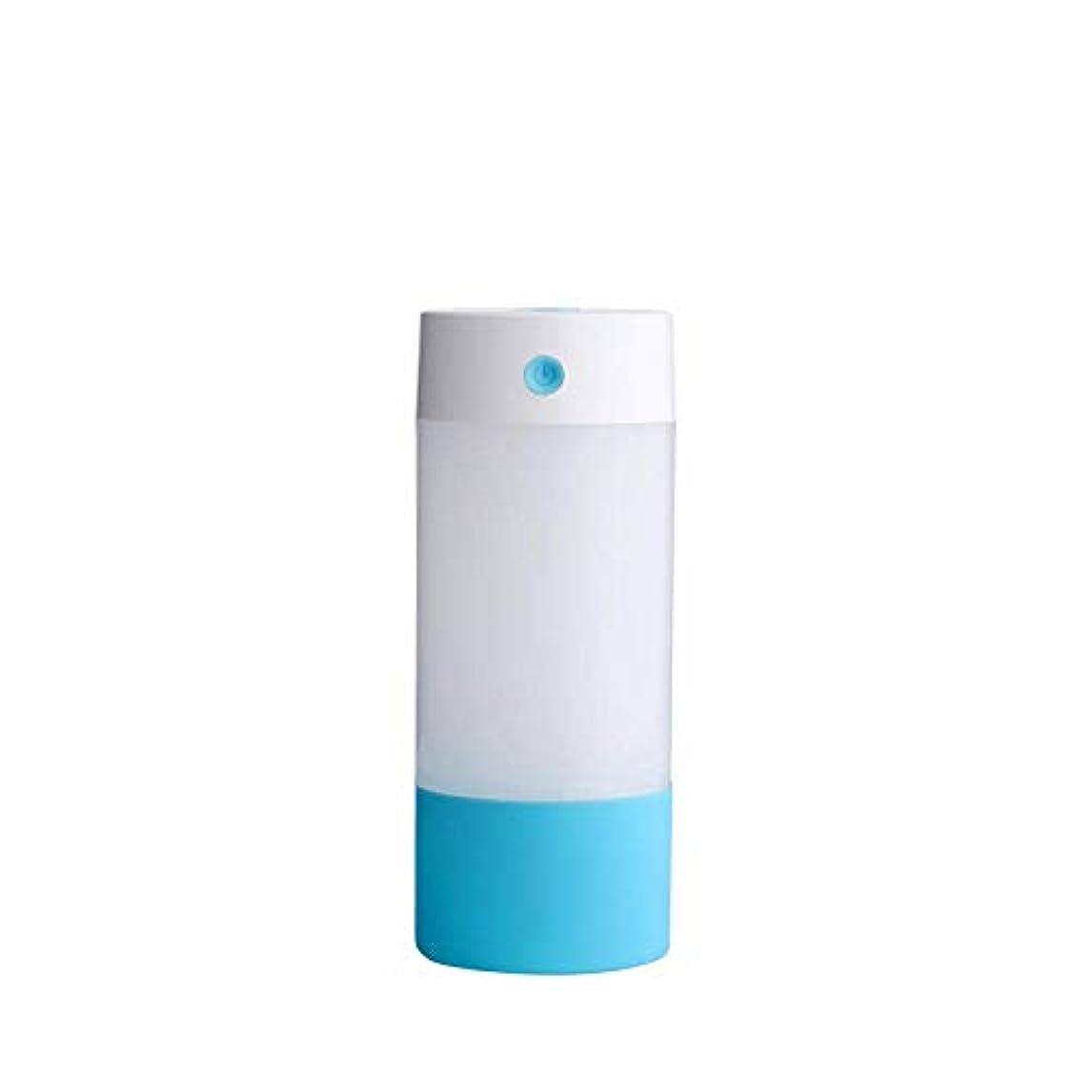 致命的ステートメントサイバースペースSOTCE アロマディフューザー加湿器超音波霧化技術のライトカー満足のいく解決策連続霧モード湿潤環境 (Color : Blue)