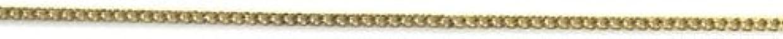 正確さ弾丸必要条件プリティーネイル ネイルアートパーツ プレーンチェーンSS ゴールド 1m 1個