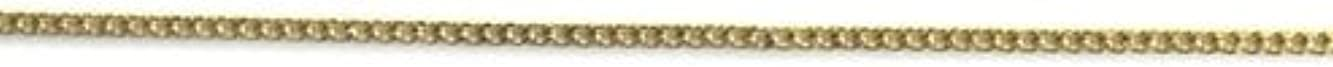 ボイコット十二反毒プリティーネイル ネイルアートパーツ プレーンチェーンSS ゴールド 1m 1個