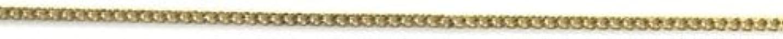 または誇張開発するプリティーネイル ネイルアートパーツ プレーンチェーンSS ゴールド 1m 1個