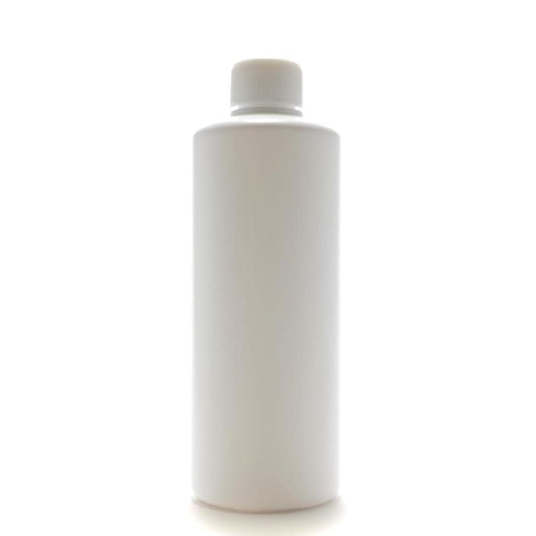 どこそよ風想像するプラスチック容器 300mL PE ストレートボトル ホワイト【スクリューキャップ:ホワイト 中栓付き】