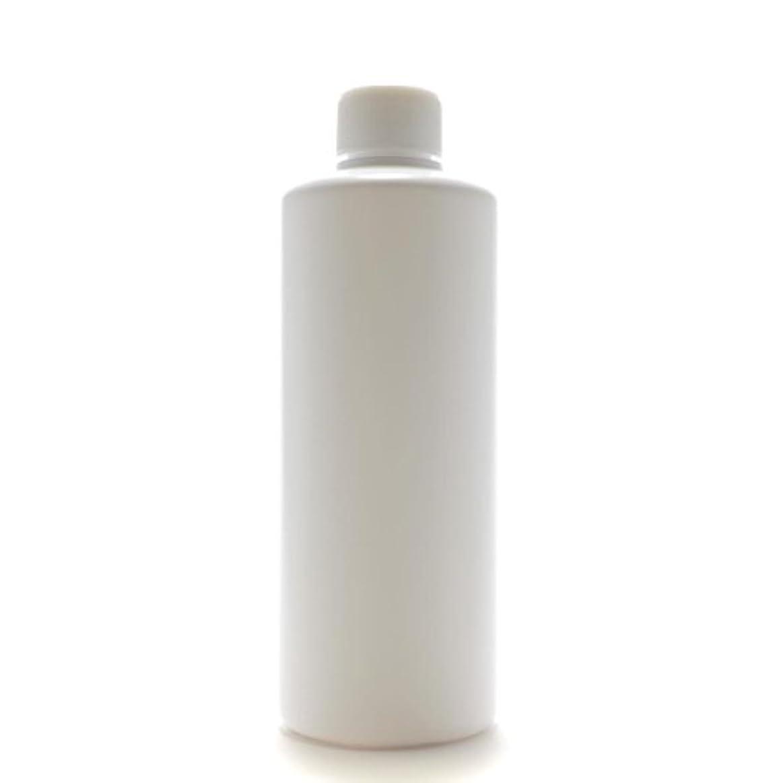 フレア喜劇コンデンサープラスチック容器 300mL PE ストレートボトル ホワイト【スクリューキャップ:ホワイト 中栓付き】