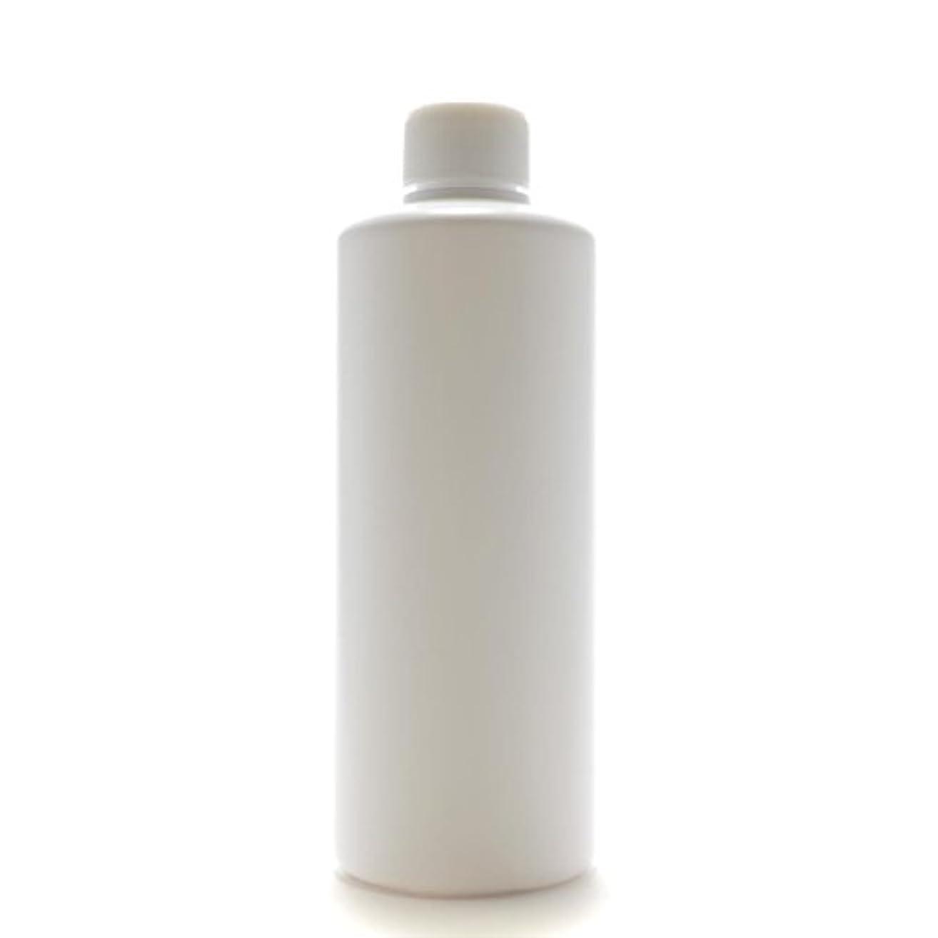 盆地それスローガンプラスチック容器 300mL PE ストレートボトル ホワイト【スクリューキャップ:ホワイト 中栓付き】