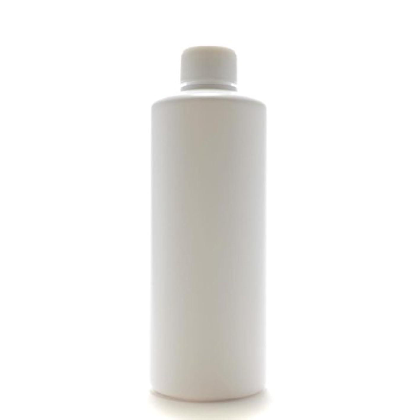 震え何十人も段落プラスチック容器 300mL PE ストレートボトル ホワイト【スクリューキャップ:ホワイト 中栓付き】