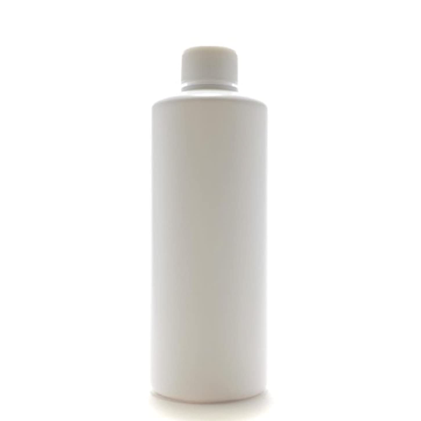 アメリカピンチオプショナルプラスチック容器 300mL PE ストレートボトル ホワイト【スクリューキャップ:ホワイト 中栓付き】