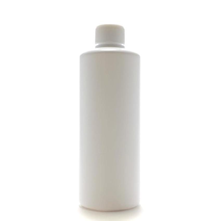 バラ色モーテルスペイン語プラスチック容器 300mL PE ストレートボトル ホワイト【スクリューキャップ:ホワイト 中栓付き】