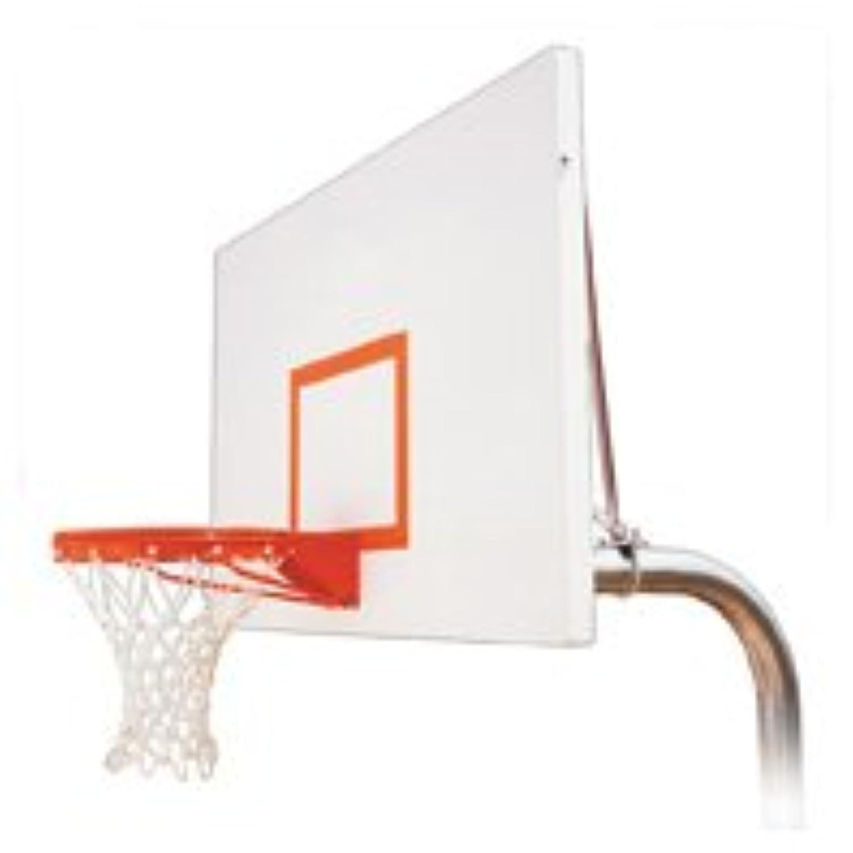 最初チームRuffneck Excelスチールで地面固定高さバスケットボールsystem44 ;海軍ブルー