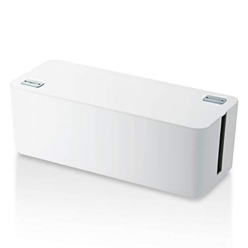 ELECOM ケーブル収納ボックス EKC-BOX001WH