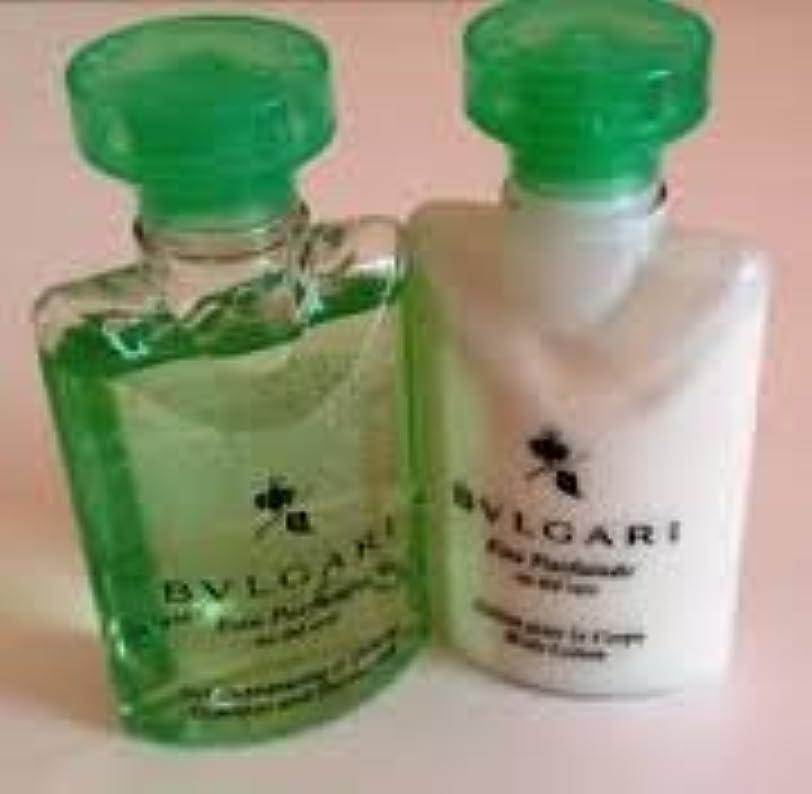 保証金キャンドルできたBvlgari Eau Parfumee au the vert (ブルガリ オー パフュ-メ オウ ザ バート / グリーン ティー) 2.5 oz (75ml) シャンプー & ヘアーコンディショナー