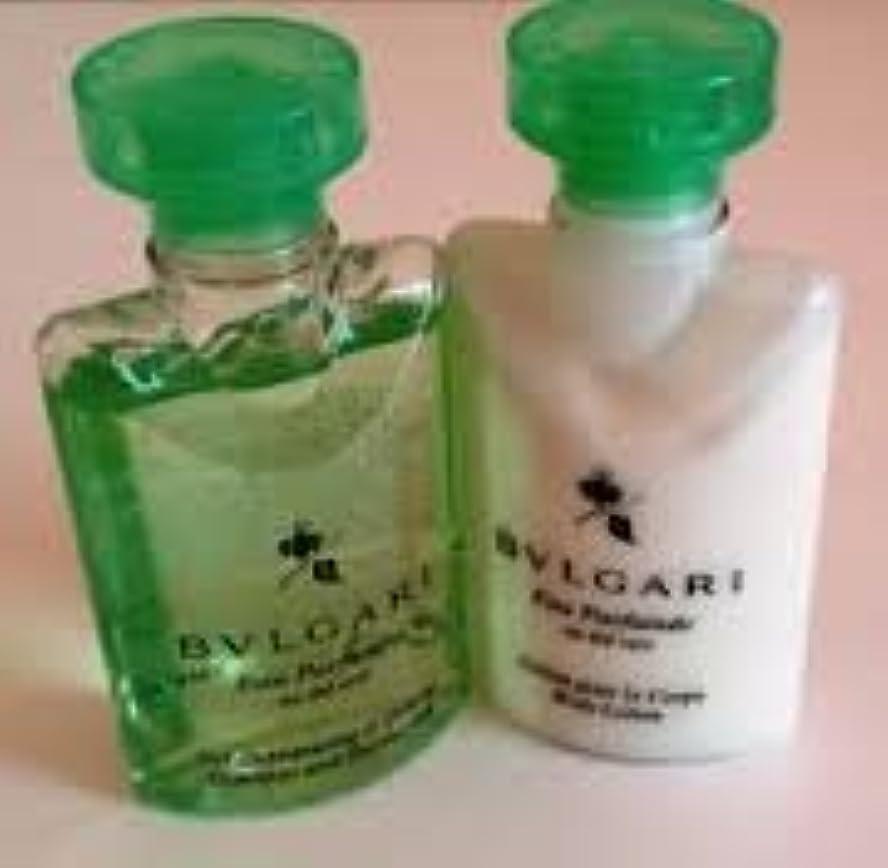 アンソロジーメッセージ印象的Bvlgari Eau Parfumee au the vert (ブルガリ オー パフュ-メ オウ ザ バート / グリーン ティー) 2.5 oz (75ml) シャンプー & ヘアーコンディショナー