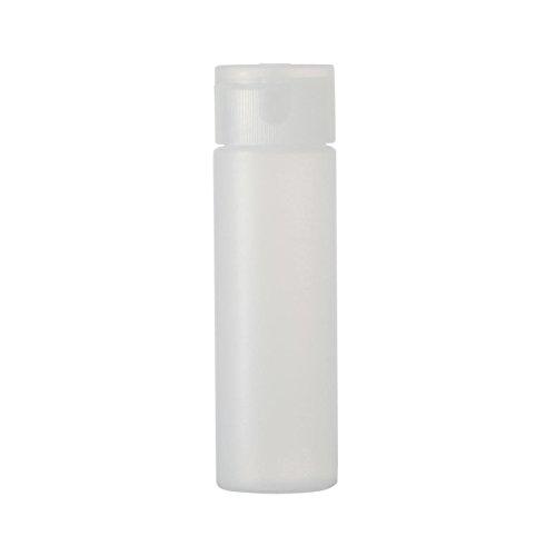 無印良品 【まとめ買い】ポリエチレン小分けボトルワンタッチキャップ・50ml 50ml・10個セット