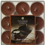 ColonialチベットサンダルウッドScented Candle Tealight Candles