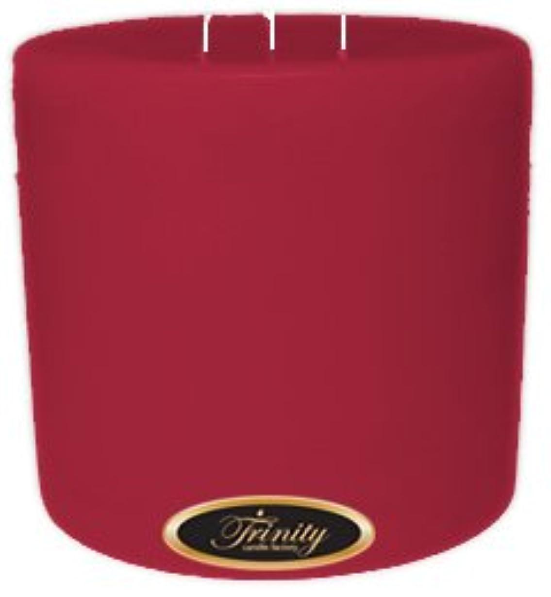 起点たらいガイダンスTrinity Candle工場 – French Rose – Pillar Candle – 6 x 6
