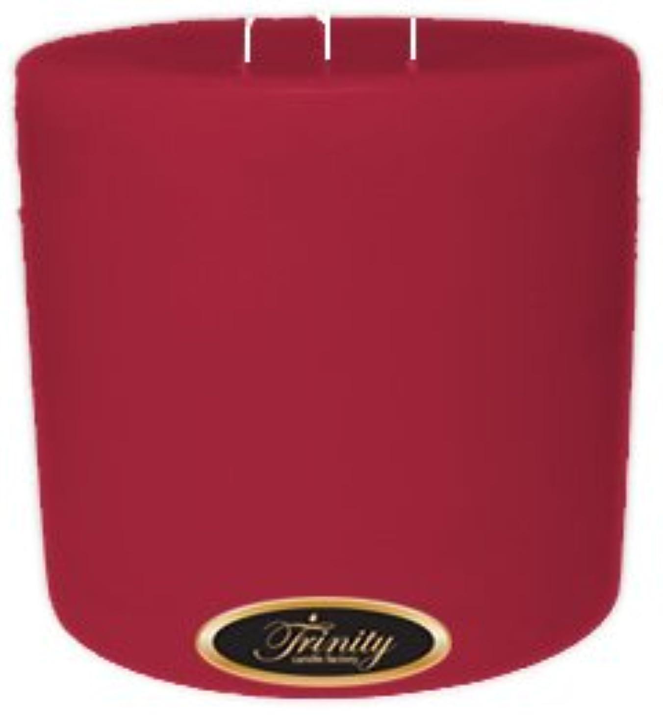 軍団匹敵します地震Trinity Candle工場 – French Rose – Pillar Candle – 6 x 6