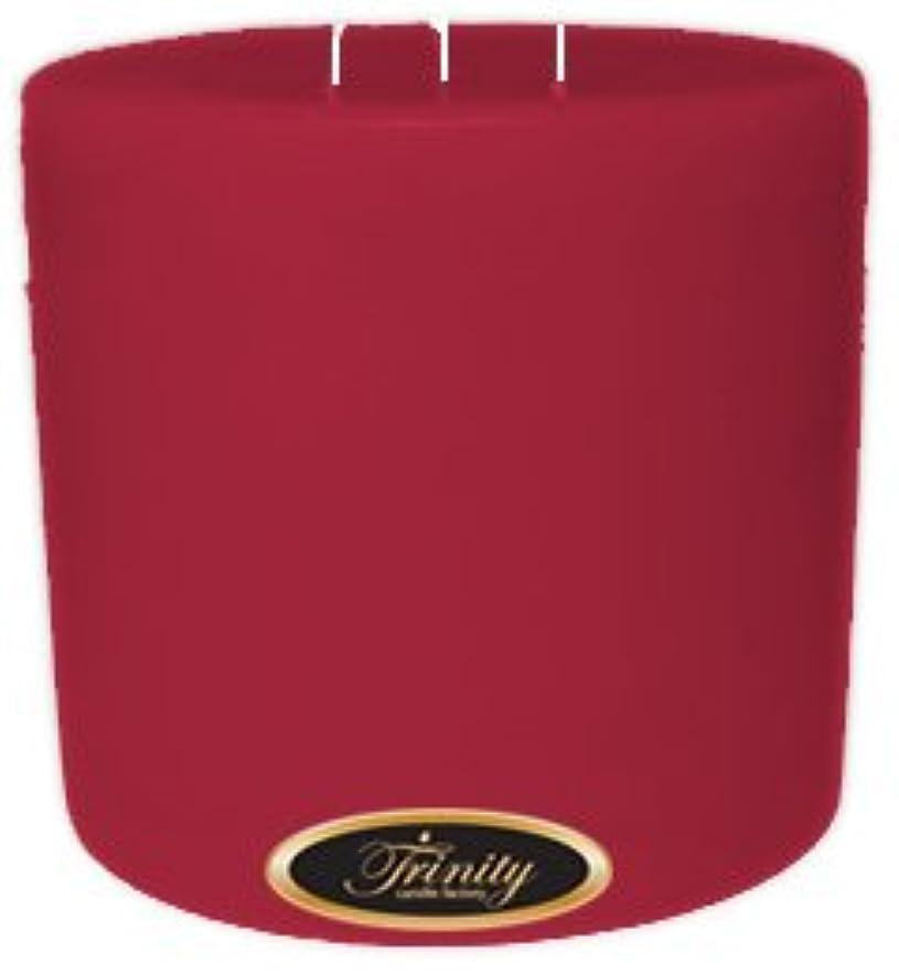 一回シニス簿記係Trinity Candle工場 – French Rose – Pillar Candle – 6 x 6