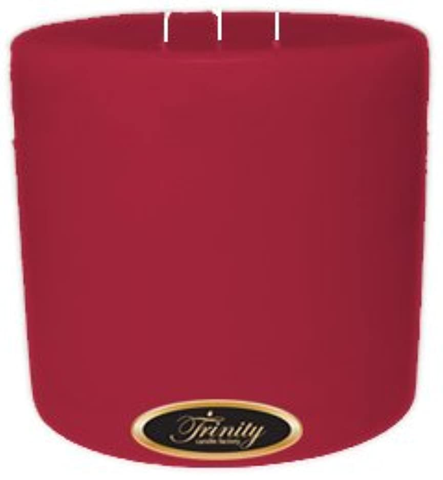 付添人求めるまどろみのあるTrinity Candle工場 – French Rose – Pillar Candle – 6 x 6