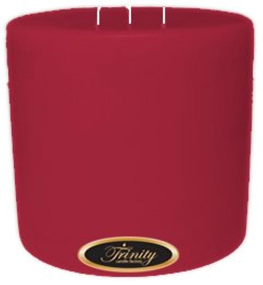 勉強する回路心理的にTrinity Candle工場 – French Rose – Pillar Candle – 6 x 6