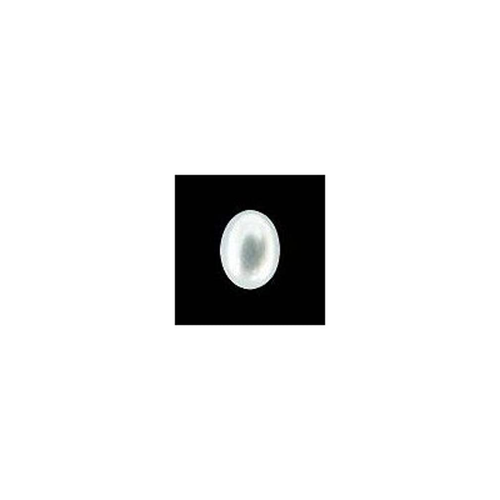 交差点タイル乱暴なピアドラ 大粒パール オーバル(7×5)24P