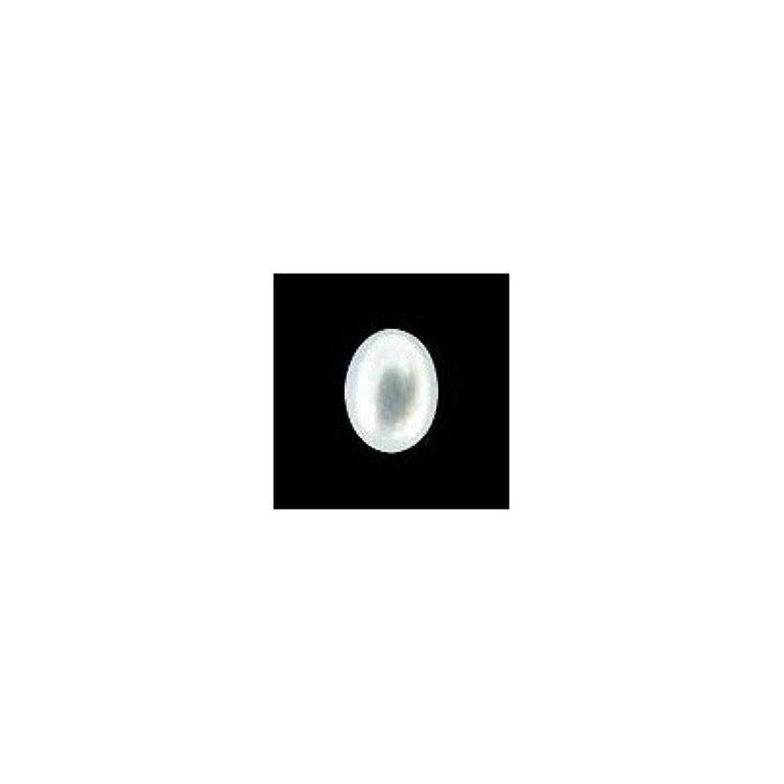 断言する反毒迷彩ピアドラ 大粒パール オーバル(7×5)24P