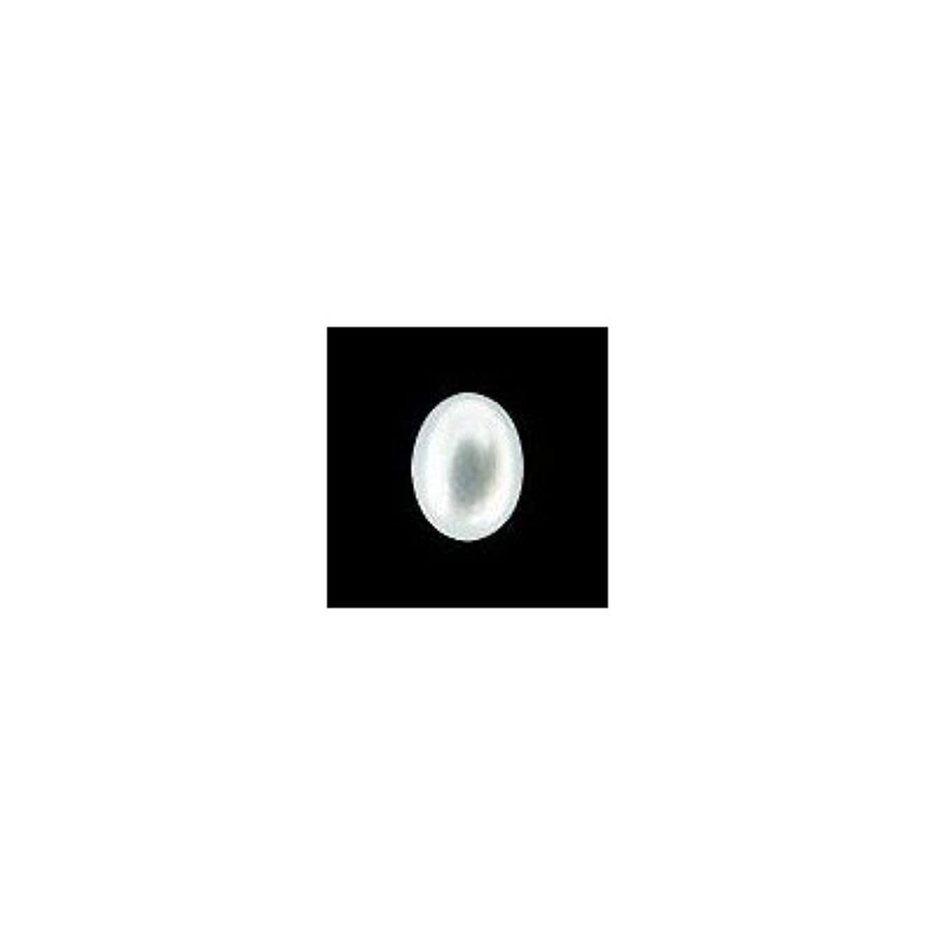 唯物論会員ボウルピアドラ 大粒パール オーバル(7×5)24P