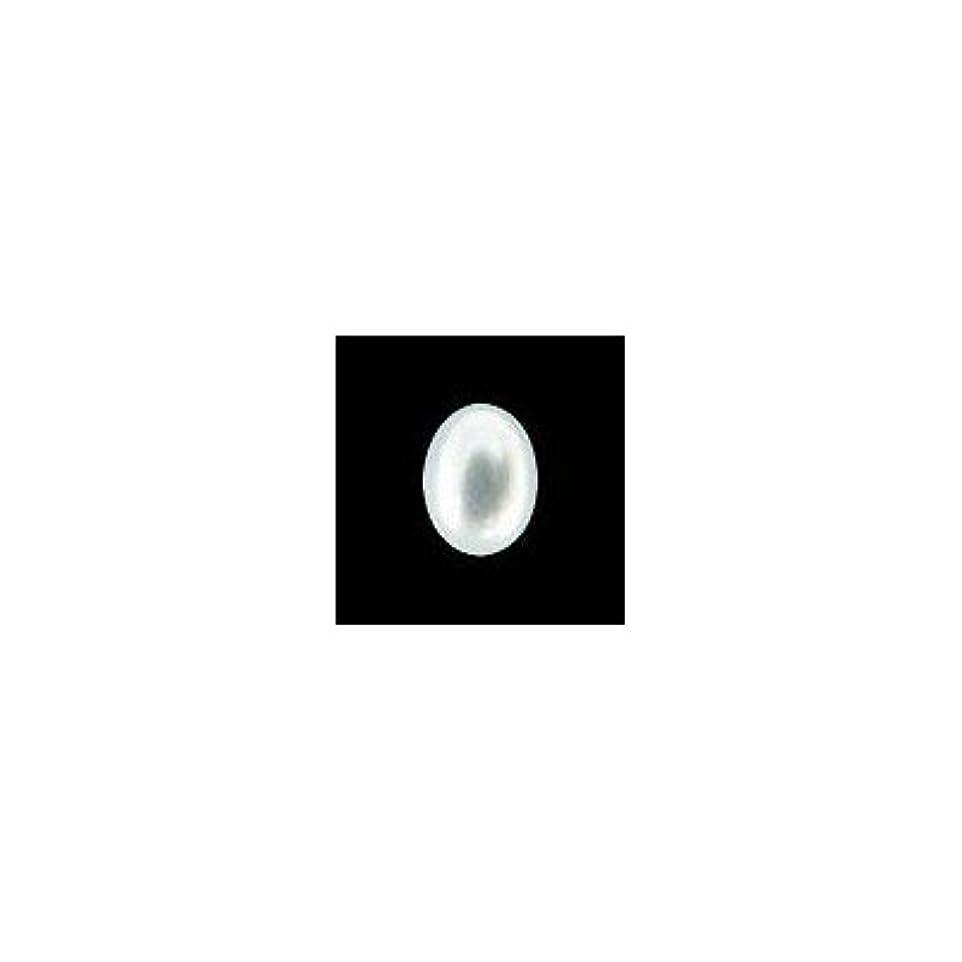 甘いパターン潮ピアドラ 大粒パール オーバル(7×5)24P