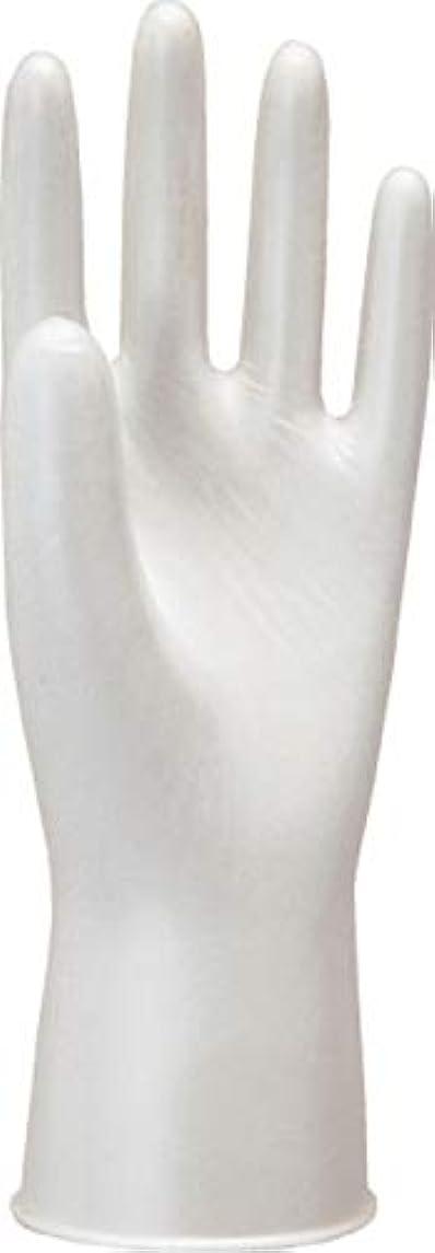 推定する今日とげのあるモデルローブNo910天然ゴム使いきり手袋粉つき100枚入ホワイトL