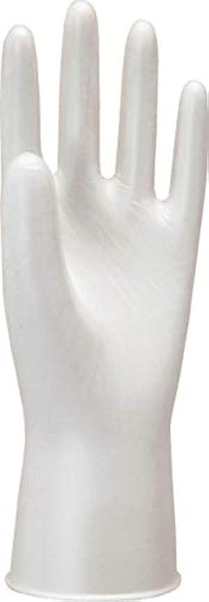 高度な対人複数モデルローブNo910天然ゴム使いきり手袋粉つき100枚入ホワイトL