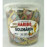 HARIBO ハリボー ミニゴールドベア バケツ 980g (100袋入り)