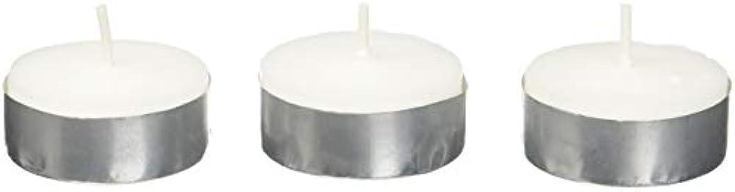 酔っ払い遅い会うZest Candle CTZ-008 White Citronella Tealight Candles -100pcs-Box