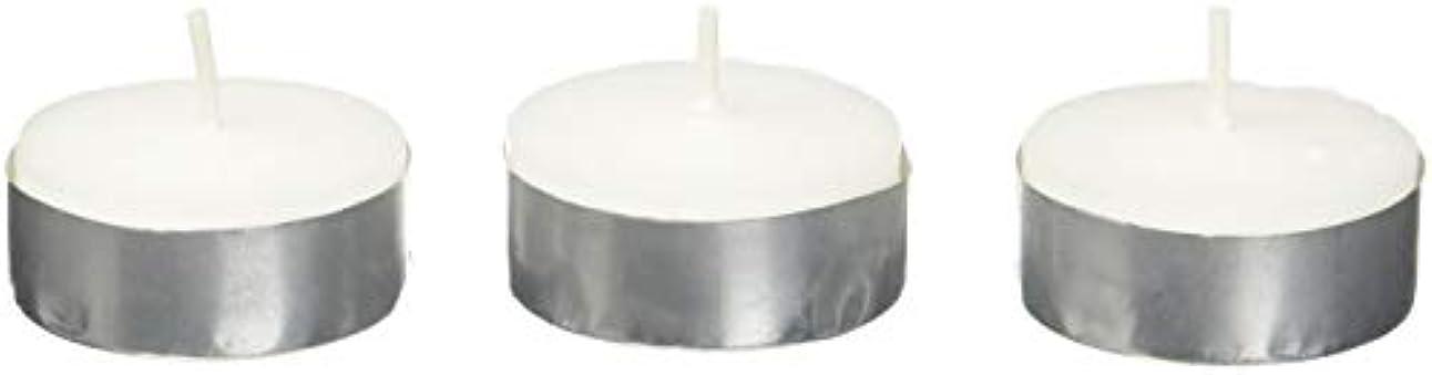 エキゾチック帽子質量Zest Candle CTZ-008 White Citronella Tealight Candles -100pcs-Box
