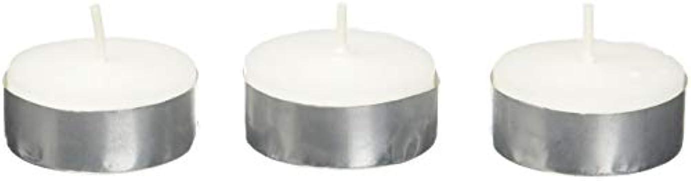 日焼けモードリン食欲Zest Candle CTZ-008 White Citronella Tealight Candles -100pcs-Box