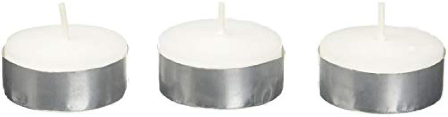 抽象化ひまわり化学者Zest Candle CTZ-008 White Citronella Tealight Candles -100pcs-Box