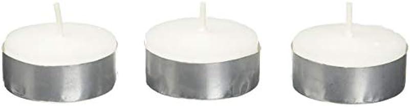 消防士軽食遮るZest Candle CTZ-008 White Citronella Tealight Candles -100pcs-Box