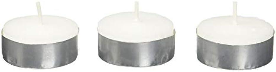 勧告誤解させる知覚的Zest Candle CTZ-008 White Citronella Tealight Candles -100pcs-Box