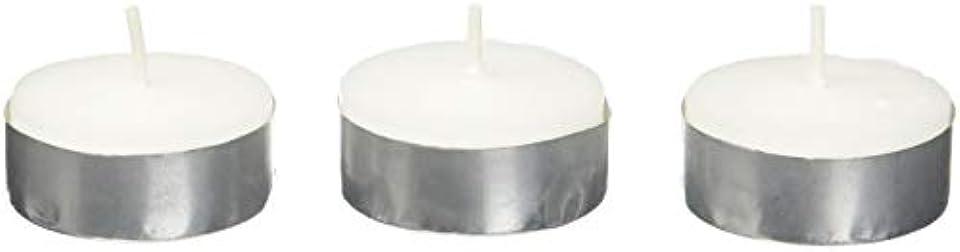 太鼓腹普通の引き受けるZest Candle CTZ-008 White Citronella Tealight Candles -100pcs-Box