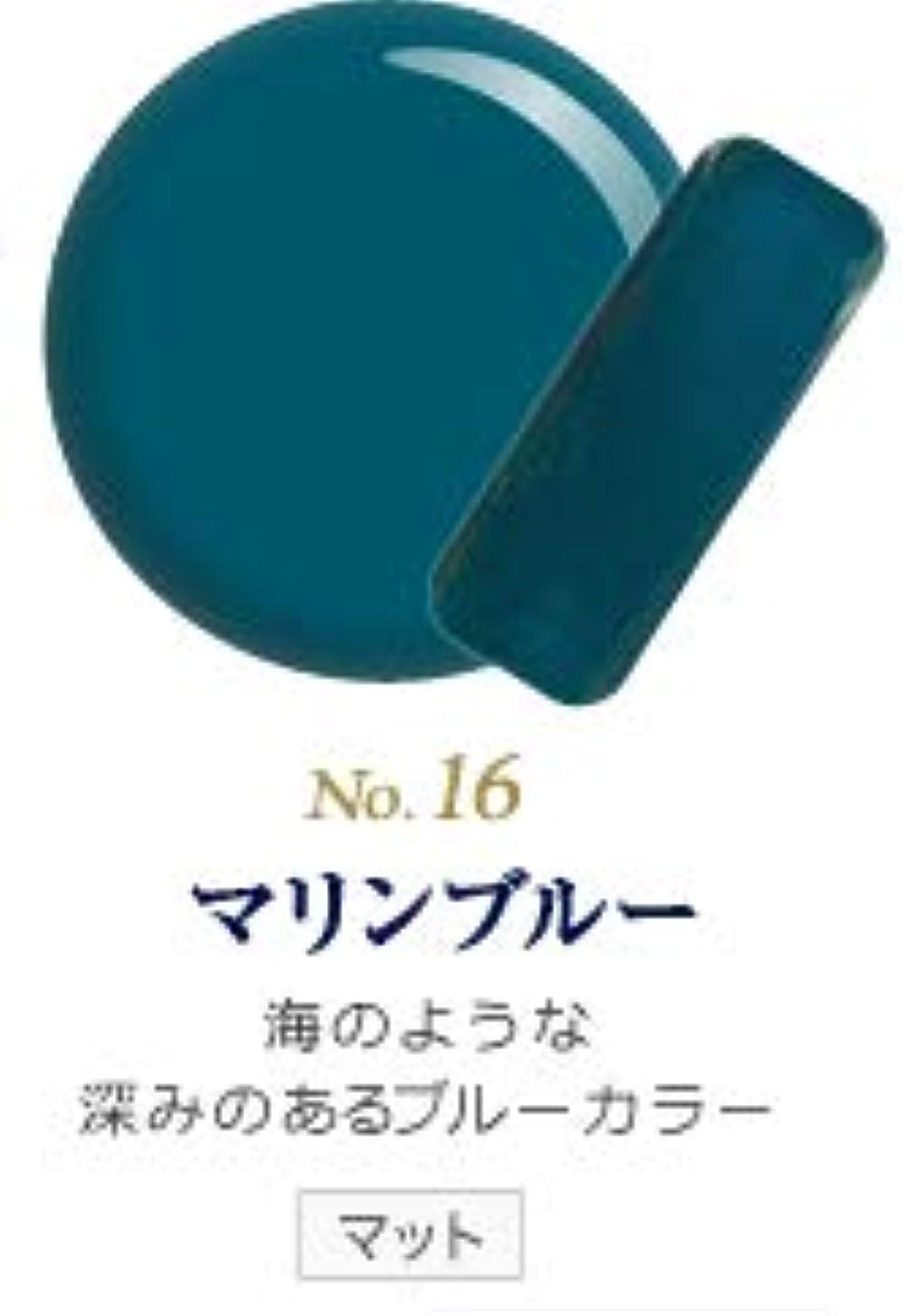 軸気分が良いインフルエンザ発色抜群 削らなくてもオフが出来る 新グレースジェルカラーNo.11~No.209 (マリンブルー)