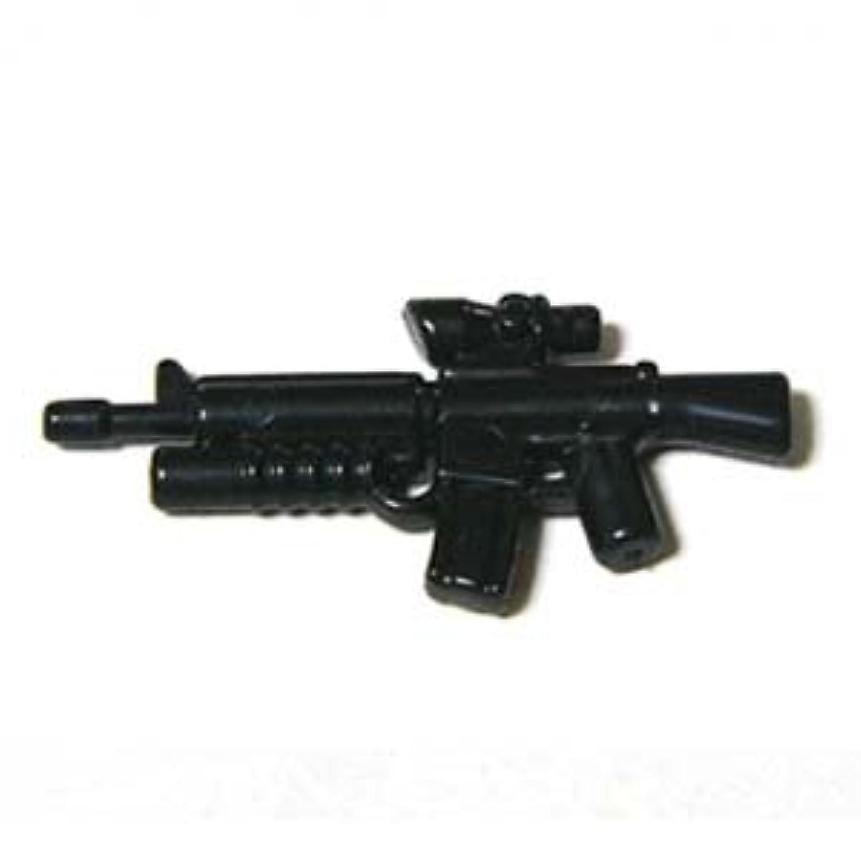 LEGOカスタム品 アーミー 装備品 武器 Black m16-AGL 【並行輸入品】